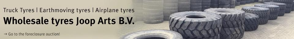 Banden groothandel Joop Arts B.V. in Oss (tire wholesaler)